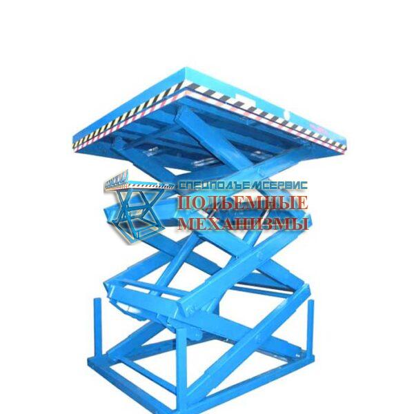 Трехножничный подъемный стол