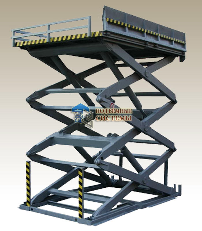 Подъемный стол трехножничный