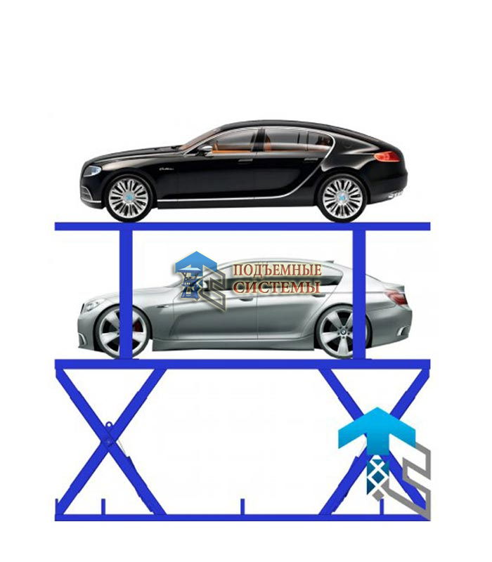 Автомобильный лифт для паркинга
