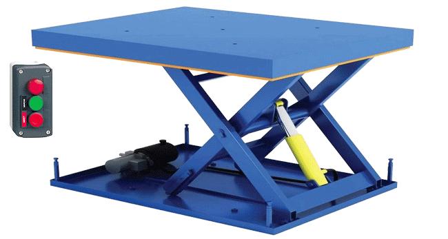 Гидравлический подъемный стол устройство