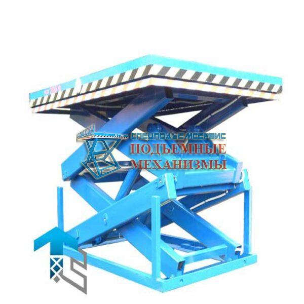 Подъемный стол 1000 кг, Н=1,0 м, платформа 1000х500 мм