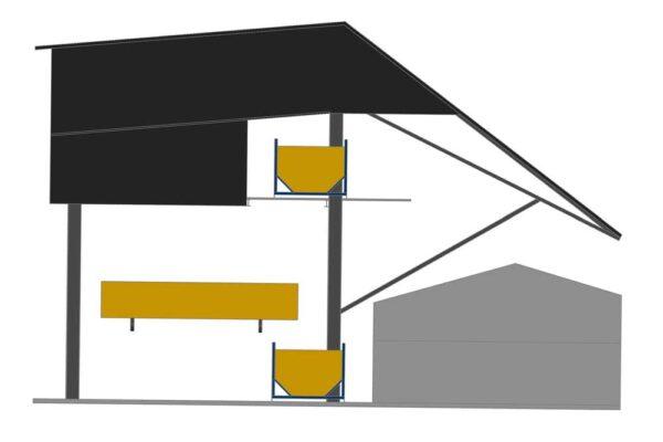 Рисунок №2 к ТЗ на подъемный стол для пиломатериалов