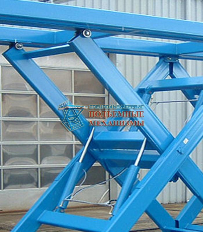 Усиленный гидравлический подъемный стол
