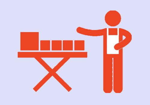 Подъемные столы для выставочных центров