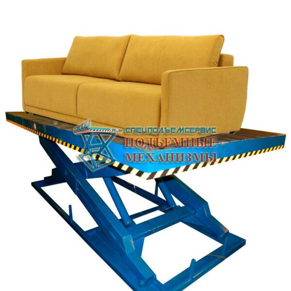 гидравлический подъемны стол для мебльного производства