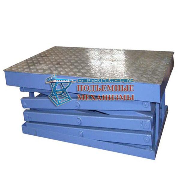 Подъемный стол для сетевого магазина МАГНИТ г/п 1000 кг