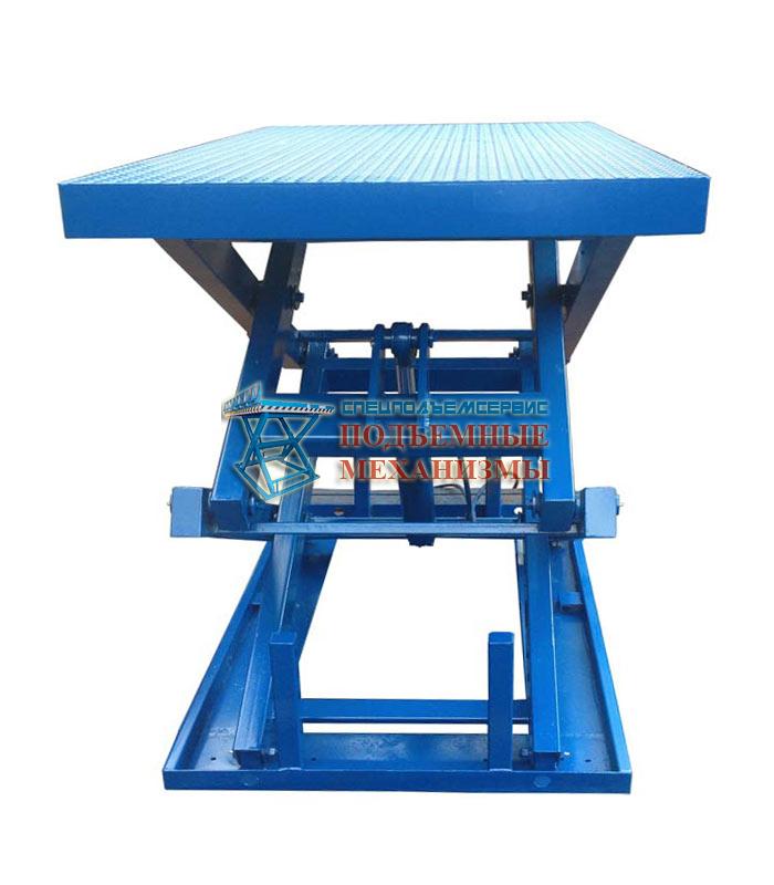 Подъемный стол для поддонов