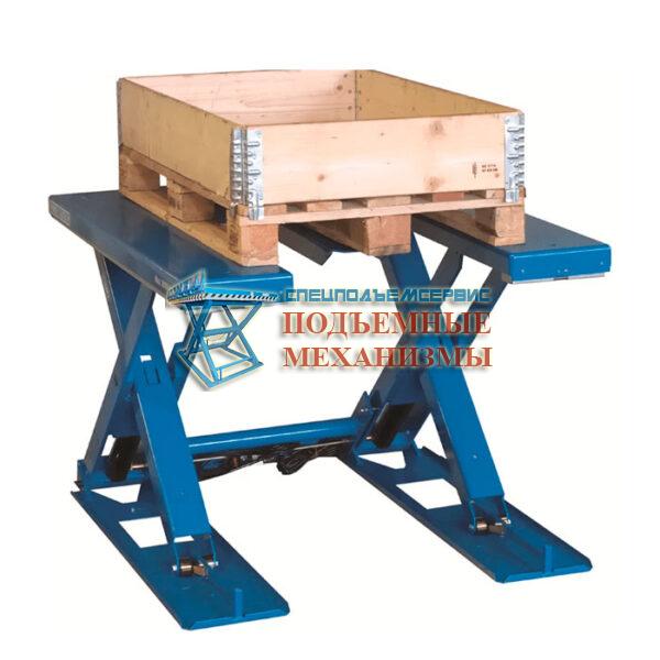 П-образный ножничный подъемный стол