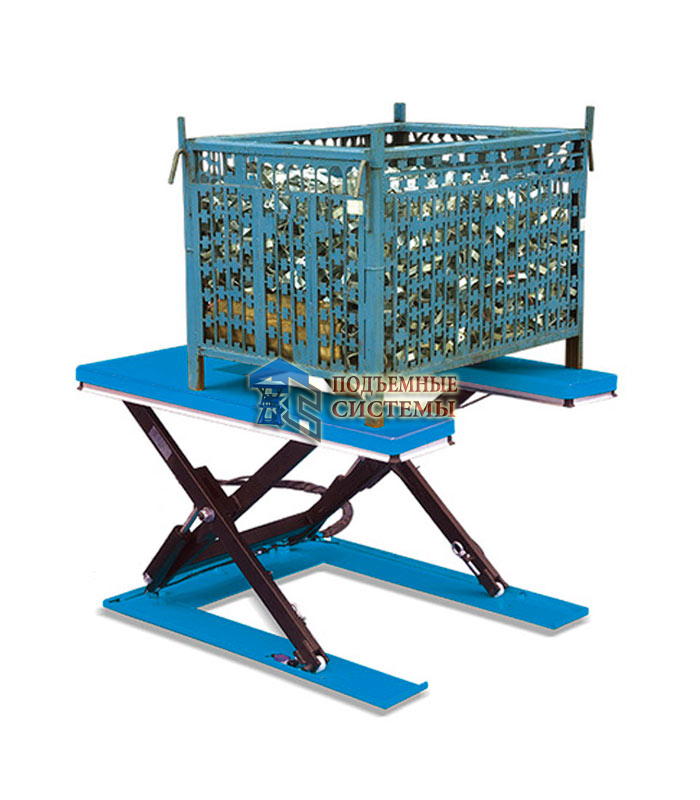 П-образный гидравлический подъемный стол