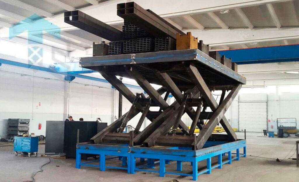 Эргонтмика промышленных подъемных столов