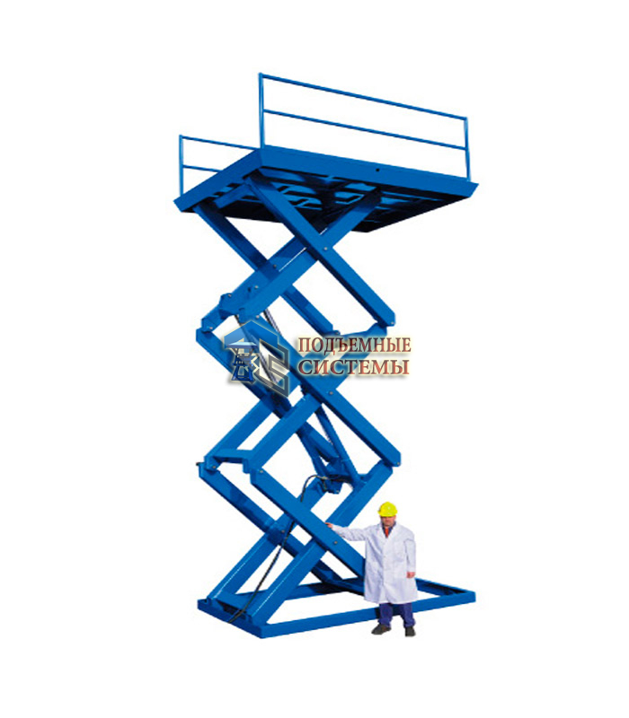Ножничный подъемный стол г/п 2000 кг