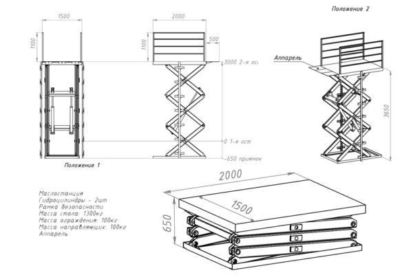 схема-гидравлического-подъемного-стола-1500-кг
