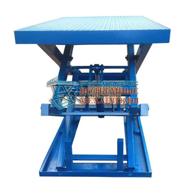 Подъемный стол гидравлический г/п 2000кг, Н=1,0м, 1000х2000 мм